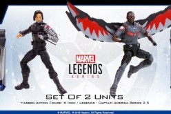 Hasbro Marvel Legends 6″ Captain America: Civil War The Winter Soldier & Falcon Figures (Update 2)