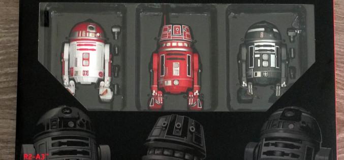 Hasbro Star Wars The Black Series New Astromech 3 Pack Hits eBay