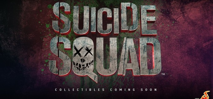 Hot Toys Announces Suicide Squad Movie Figures Coming Soon
