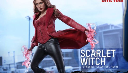 Hot Toys Captain America: Civil War Scarlet Witch Sixth Scale Figure