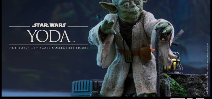 Hot Toys Star Wars The Empire Strikes Back Yoda Sixth Scale Figure
