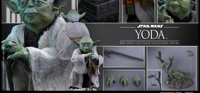 Hot Toys Star Wars The Empire Strikes Back Yoda Sixth Scale Figure Pre-Orders