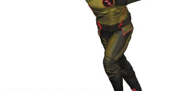 Flash TV Series Reverse Flash DC Heroes Paperweight Statue – Previews Exclusive