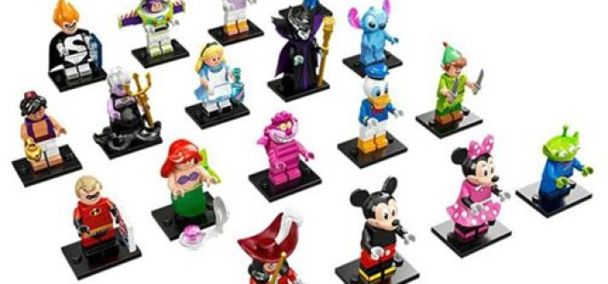 LEGO Disney Series Mini-Figures Display Box 60 Figures On Entertainment Earth