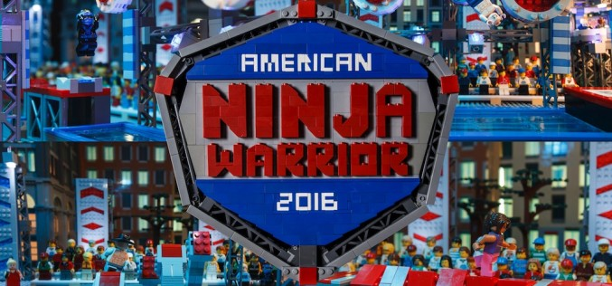 LEGO Gives Sneak Peek Of American Ninja Warrior Obstacle