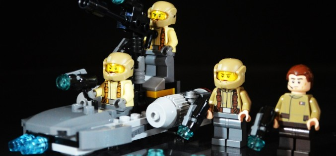LEGO Star Wars 75131 Resistance Trooper Battle Pack Review