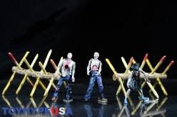McFarlane Toys The Walking Dead Walker Barrier Construction Set Review