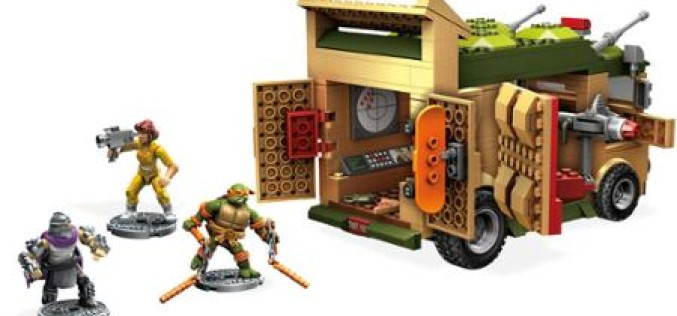 Mega Bloks Teenage Mutant Ninja Turtles Classic Collection Party Wagon In Stock At Wal-Mart