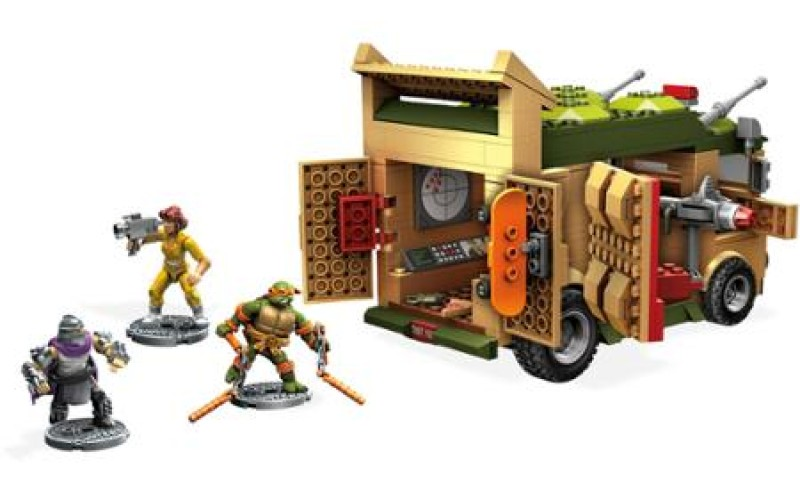 ToyHypeUSA Store – Mega Bloks Teenage Mutant Ninja Turtles Party Wagon