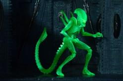 NECA Toys Alien Vs. Predator Glow In The Dark Alien Warrior