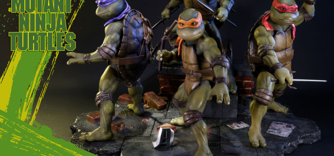 Prime 1 Studios Teenage Mutant Ninja Turtles 1990 Statue Pre-Orders