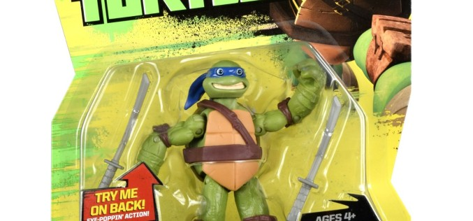 Teenage Mutant Ninja Turtles Eye Poppin' Leo & Tongue-Poppin' Mikey On Amazon