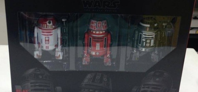 Hasbro Star Wars The Black Series New Astromech 3 Pack Coming