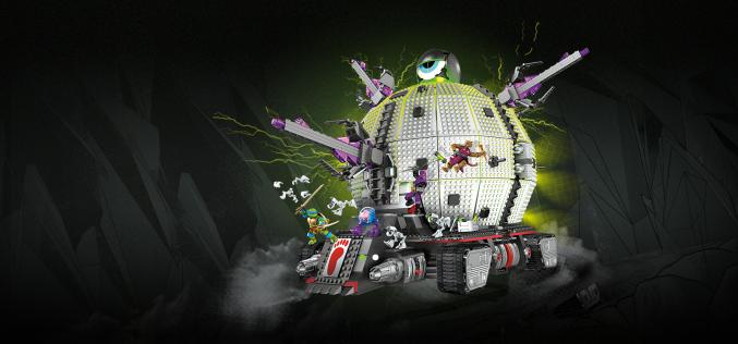 Mega Bloks Teenage Mutant Ninja Turtles Technodrome Released