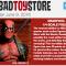 BigBadToyStore Update: Deadpool, Bandai JP, Star Wars, Mega Man, Power Rangers, Star Trek, Ghostbusters, Suicide Squad & More