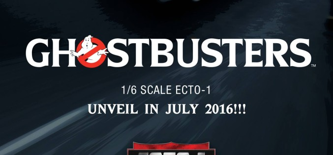 Blitzway Announces Sixth Scale Ghostbusters Figures & Ecto-1 Vehicle