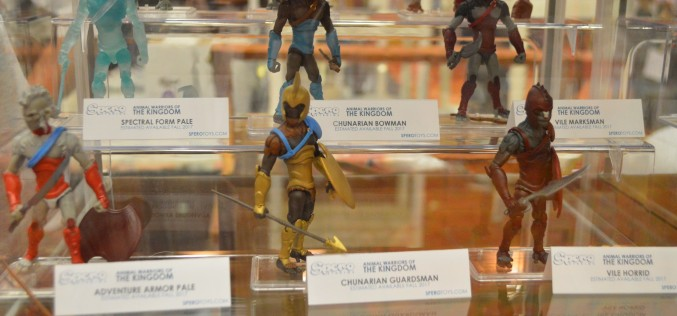 G.I. JoeCon 2016 – Animal Warriors Of The Kingdom On Display