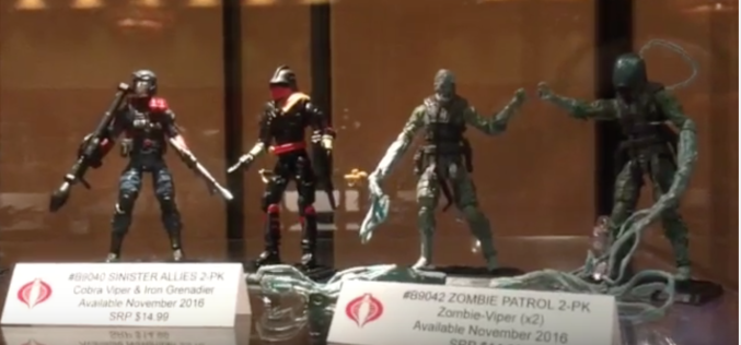 G.I. JoeCon 2016 – Hasbro Booth Video Walkthrough