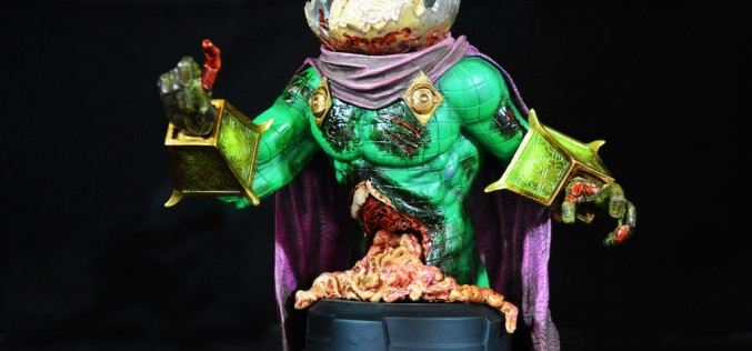 Gentle Giant Villain Zombies – Zombie Mysterio Mini Bust Review