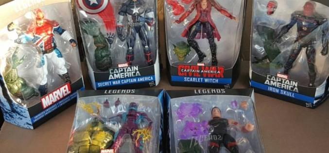 Hasbro Captain America Marvel Legends 6″ Abomination Wave