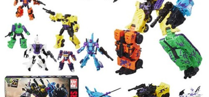 Hasbro Transformers Combiner Wars G2 Bruticus Combaticons Boxed Set