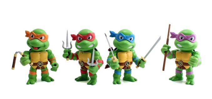 Jada Toys Teenage Mutant Ninja Turtles Die-Cast Metal Figures New Images