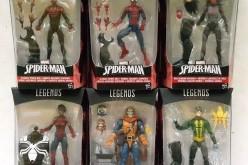 Hasbro Spider-Man 6″ Legends Space Venom Build-A-Figure Wave On eBay