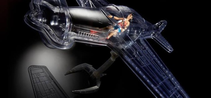 Mattycollector SDCC 2016 Exclusive DC Multiverse Wonder Woman With Invisible Jet