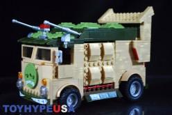 Mega Bloks Teenage Mutant Ninja Turtles Classic Collection Party Wagon Gallery Update