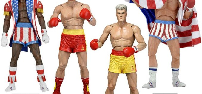 NECA Toys Rocky IV Series 2 Figures On Official Amazon & eBay Storefronts
