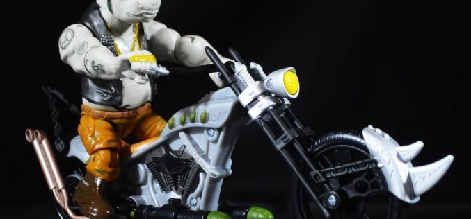 Playmates Toys Teenage Mutant Ninja Turtles Out Of The Shadows Rhino Chopper Review