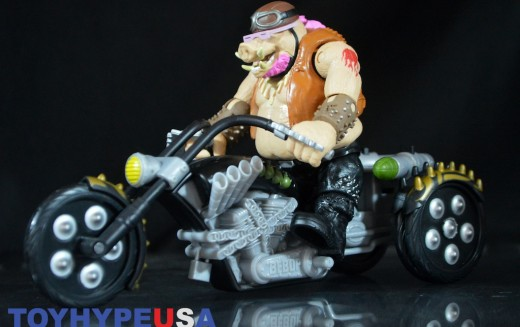 Playmates Toys Teenage Mutant Ninja Turtles Out Of The Shadows Warthog Trike Review