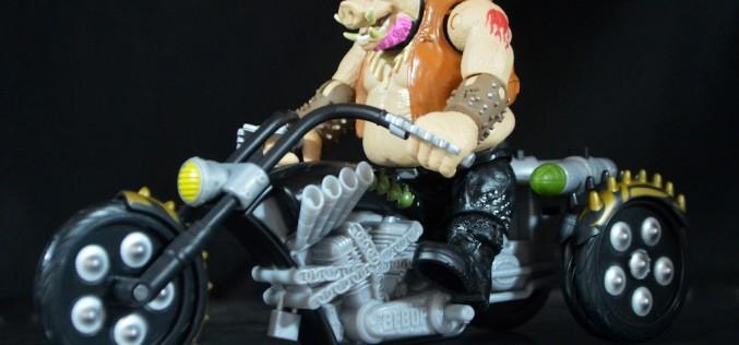 Playmates Toys Teenage Mutant Ninja Turtles Out Of The Shadows Warthog Trike Review