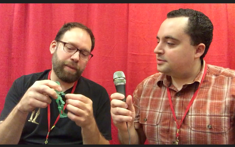 PowerCon 2016 – Video Interview With George Gaspar Of October Toys