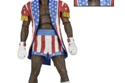 NECA Toys Rocky IV Appolo Creed 7″ Figure Revealed