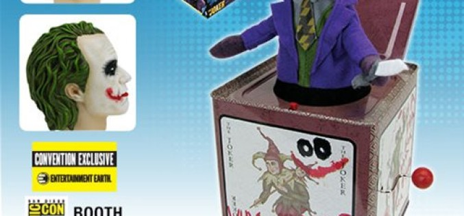SDCC 2016 Exclusive Bif Bang Pow! The Dark Knight Joker Jack In The Box