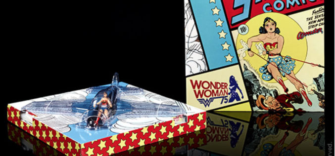 SDCC 2016 Exclusive DC Multiverse Wonder Woman With Invisible Jet Update