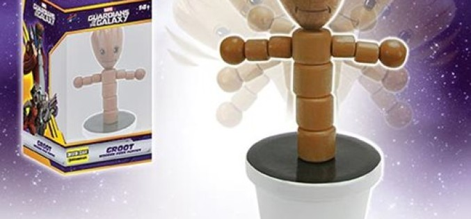 SDCC 2016 Groot 4″ Wood Push Puppet – Entertainment Earth Exclusive