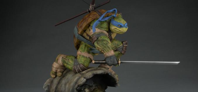 Sideshow Teenage Mutant Ninja Turtles Leonardo Statue New Details & Images