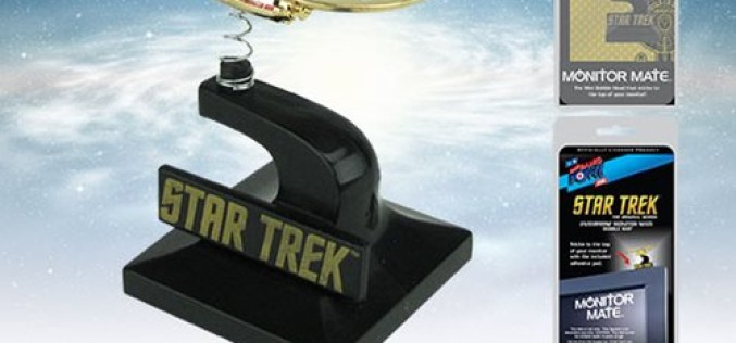 SDCC 2016 Exclusive Star Trek: The Original Series 24K Gold Plated Enterprise Monitor Mate