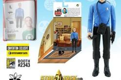 SDCC 2016 Exclusives The Big Bang Theory / Star Trek: The Original Series 3 3/4″ Figures