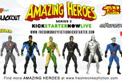 Amazing Heroes Wave 2 Kickstarts Nexus, Madman & Jon Sable Action Figures On Kickstarter