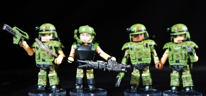 Aliens Vs. Marines Minimates Series 1 Review