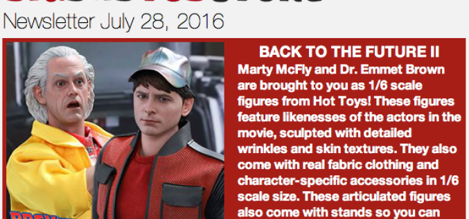 BigBadToyStore Update: Back To The Future, Suicide Squad, Aliens, Batman, MOTU, TMNT, Mazinger, SDCC & More