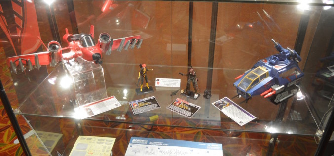 G.I. JoeCon 2016 – Hasbro Booth, Dealer Room Day 1