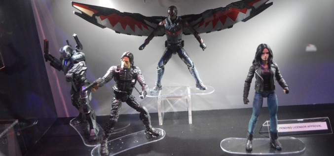 SDCC 2016: Hasbro Marvel Legends Day 3 Booth Coverage