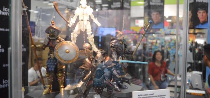 SDCC 2016: Four Horsemen Studios Mythic Legions Display
