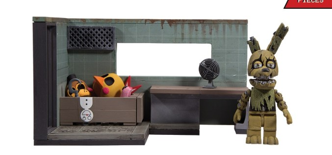 McFarlane Toys Announces New Five Nights Of Freddy Construction Sets