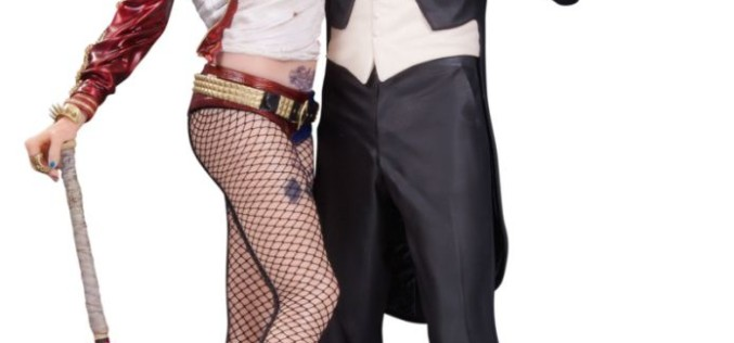 DC Collectibles Suicide Squad Harley Quinn & The Joker Statue