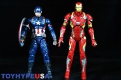 Hasbro Marvel Legends 6″ Captain America: Civil War – Captain America & Iron Man Review